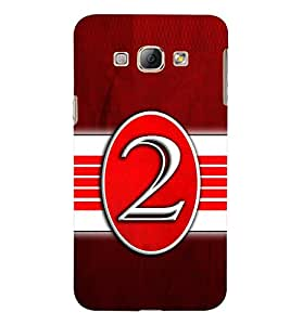 PRINTSWAG TYPOGRAPHY Designer Back Cover Case for SAMSUNG GALAXY A8