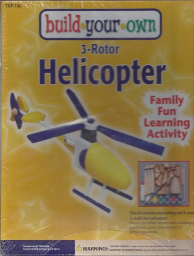 Build Your Own 3-Rotor Helicopter by CustomQuest