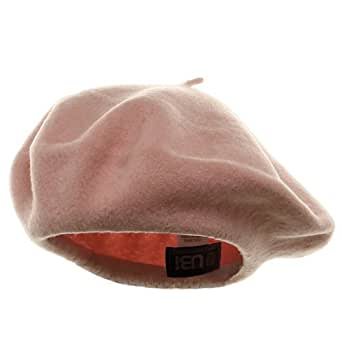 Wool Beret - Pink W08S63E
