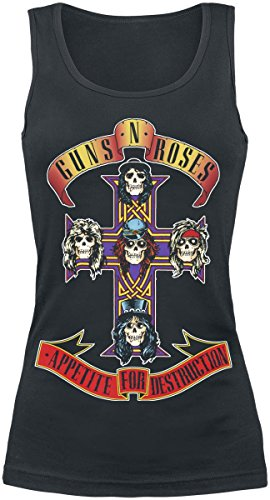 Guns N' Roses Appetite For Destruction Top donna nero M