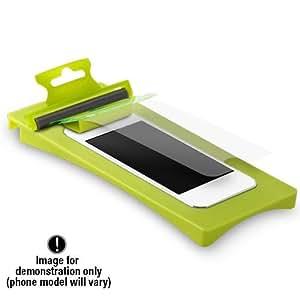 Samsung Galaxy S4 Mini Puregear Puretek Retail Hd Anti-fingerprint Screen Shield (includes Roll-on Tool Screen Protector And Cleaning Cloth) - Pet Material