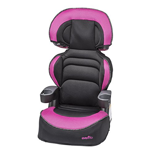 Evenflo Chase Select Harnessed Booster Car Seat Olivia