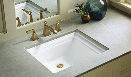 Kohler K 2339 0 Memoirs Undercounter Bathroom Sink White