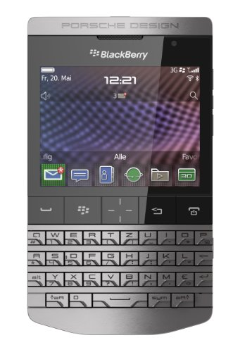 41u5IeV9SRL BLACKBERRY PORSCHE DESIGN P9981 8GB IN DARK PLATINUM QWERTY ENGLISH KEYPAD UNLOCKED P9981 MOBILE PHONE GENUINE