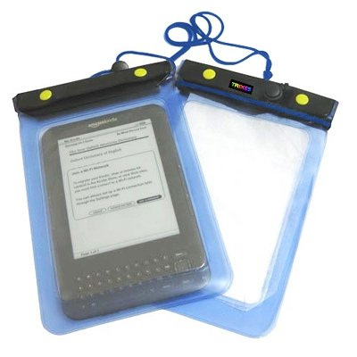 TRIXES Blue Amazon Kindle Holiday Waterproof Case Cover Protective Bag Pouch for Amazon Kindle - Kindle Keyboard - Kindle Touch - Kindle Fire