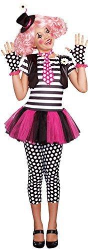 [SugarSugar Girls Clownin' Around Costume, One Color, Medium, One Color, Medium by Sugar] (Clownin Around Girls Costumes)