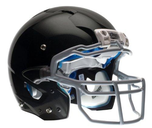 Schutt Youth ION 4D Football Helmet without Faceguard (Black, Medium )