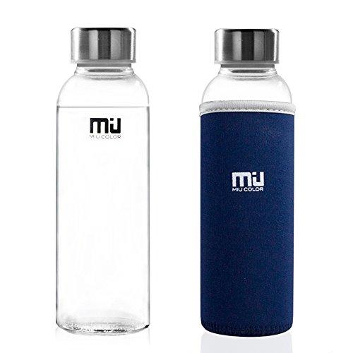 miu-colorr-stylish-portable-real-borosilicate-glass-water-bottle-with-dark-blue-nylon-sleeve-360ml