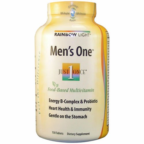 Rainbow Glow, Men's One Multivitamin, 150 Count