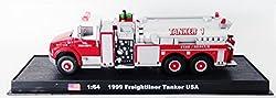 Freightliner Tanker USA Fire Truck Diecast 1-64 Model (Amercom GB-21)