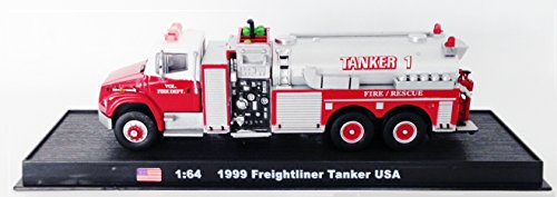 Freightliner Tanker USA Fire Truck Diecast 1:64 Model (Amercom GB-21) (Freightliner Diecast compare prices)