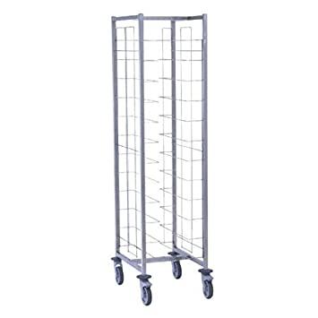 Tournus Self Clearing Trolley 12 Levels Capacity 200kg Dimensions 1790(H) x 515(W) x 560(D)mm Weight 17kg