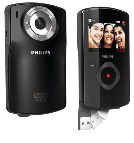 Philips CAM110BL 37 10 MP Digital Camera with CMOS Sensor and 5 x Digital Zoom (Black)