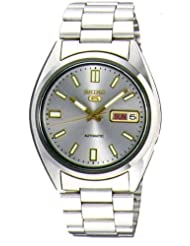 Seiko Men's SNXS75 Seiko 5 Automatic Grey Dial Stainless-Steel Bracelet Watch at Sears.com