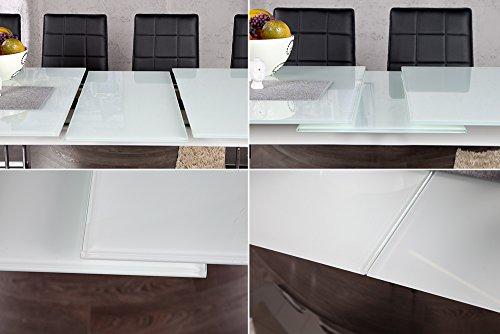 Esstisch ausziehbar weiß glas  esstisch weiß glas ausziehbar – Com.ForAfrica