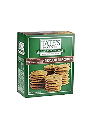 Tate's Bake Shop Chocolate Chip Cookie Box, 21 Ounce by Tate's