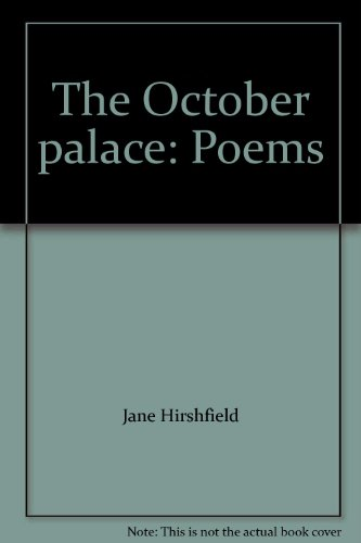 The October palace: Poems PDF