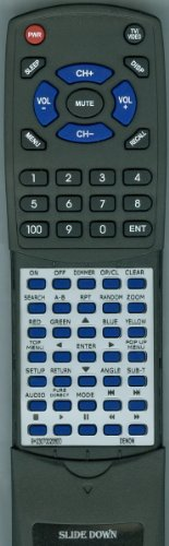 Denon Replacement Remote Control For Rc1128, Dbp1610, Dnv500Bd, Dbp2010Ci