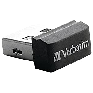 Verbatim Store 'n' Stay 16 GB USB 2.0 Flash Drive, Black  97464