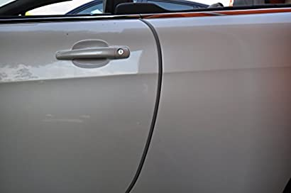 Schwarz Auto T/ürkantenschutz T/ürkantenschoner Verkauf Premium Garagenwandschutz 2 er set Selbstklebend 2 m Lang Avan