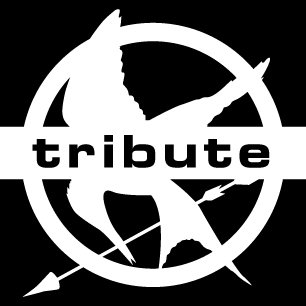 Hunger Games Mockingjay Tribute Decal, 4
