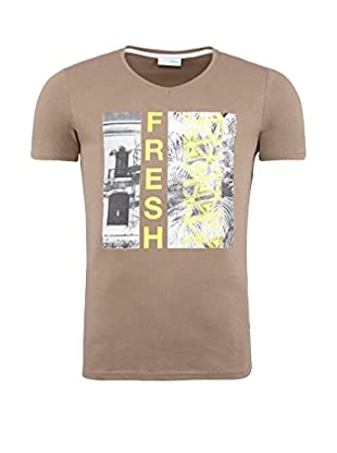 SUMMERFRESH Camiseta Manga Corta Paradise (Moka)