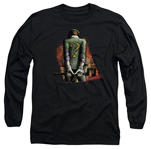 Batman Arkham City Riddler Convicted Long Sleeve T-Shirt