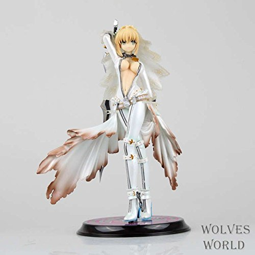 22CM Figma Action Figure Toy Anime Brinquedos Fate Stay Night Saber Lily the Sword of Victory Action Figures PVC Good QualityToy
