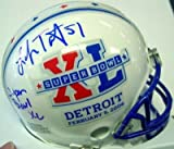 Lofa Tatupu Autographed/Hand Signed Super Bowl Mini Helmet PSA/DNA at Amazon.com