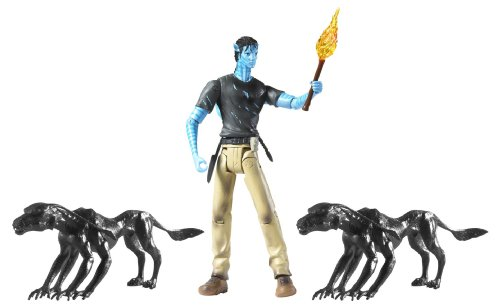 Buy Low Price Mattel Avatar Viperwolf Attack with Jake Sully Figure (B0036VOY2K)