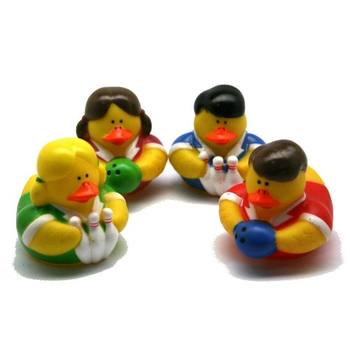 Bowling Rubber Ducks (1 dz) [Toy] - 1
