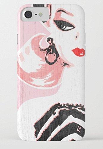 バービー Barbie society6 iPhone 7/7 Plusケース (iPhone 7 Plus, barbie01) [並行輸入品]