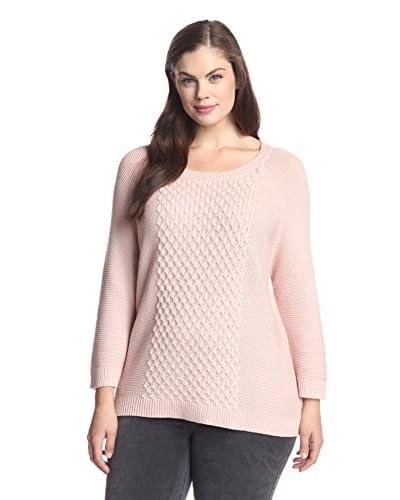 BB Dakota Plus Women's Barretta Raglan Sweater