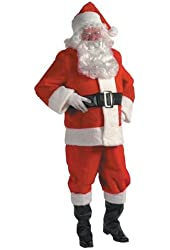 Deluxe Adult Plus Santa Costume - XXL
