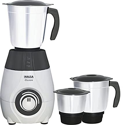 Inalsa Passion 600W 3 Jar Mixer Grinder Image