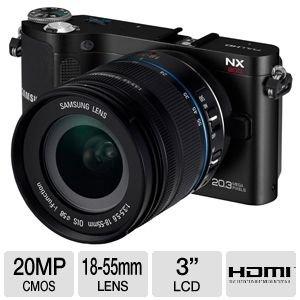 Samsung NX200 20MP Compact Digital Camera