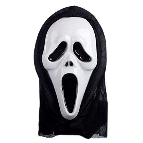 Scary Ghost Mask Scream Halloween Grimace Mask Fancy Party Props Face Masks
