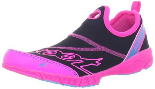 Zoot Women's Ultra Speed 3.0 Running Shoe,Black/Pink Glow/Atomic Blue,10 M US