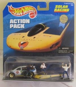 1998 HOT Wheels Action Pack Solar Racing Sunrayce 97 1:64 Scale
