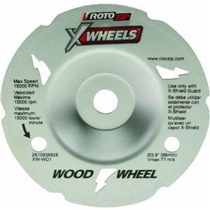 Rotozip XW-WD1 Flush Wood Cutting Wheel