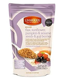 Linwoods Organic Milled Flaxseed, Sunflower, Pumpkin, Sesame Seeds and ...