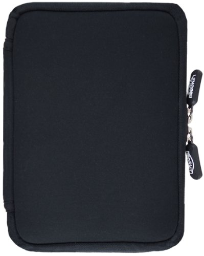 NeoSkin Kindle Zip Sleeve, Black (Fits Kindle and Kindle Paperwhite, Neoprene Kindle Cover, Kindle Case)