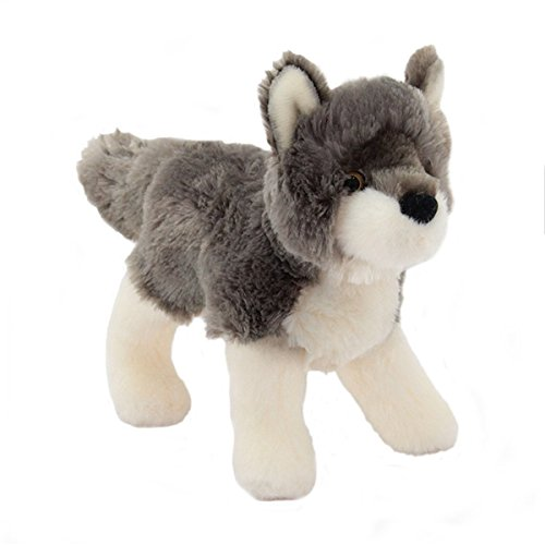 "Ashes Wolf 8"" by Douglas Cuddle Toys - 1"