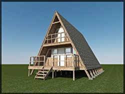 A Frame 2 Story Cabin