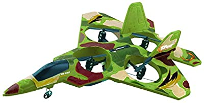 Top Race F22 Remote Control Fighter Jet Plane, 4 Channel Quad Copter with 3-Axis Gyro Technology