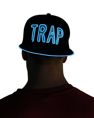 Light Up Hat - Trap (Blue)