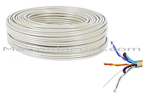 couronne-de-100-metres-de-cable-ptt-299-blinde-telephonique-et-adsl-grade-1