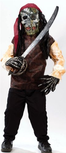 Boys Skeleton Pirate Costume