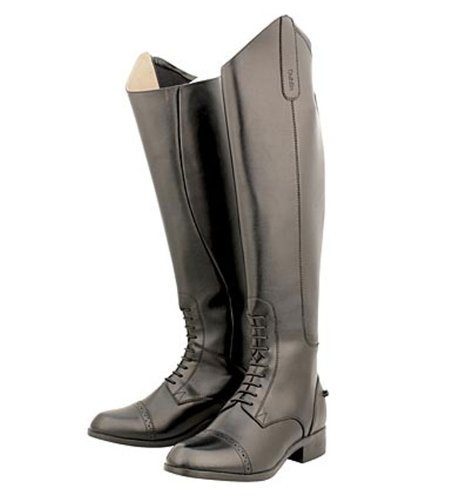 Dublin Ladies On Air Field Boots - Size:6.5 Wide Color:Black