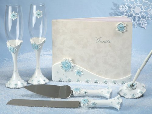 Winter wonderland wedding set. (Set of 32)